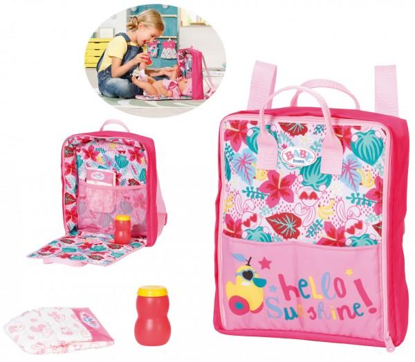Baby Born Holiday Wickelrucksack (Pink)