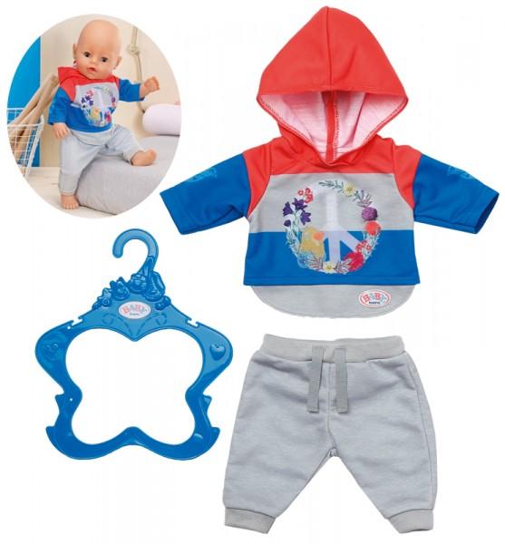 Baby Born Trend Jogginganzug 43 cm (Blau-Grau)