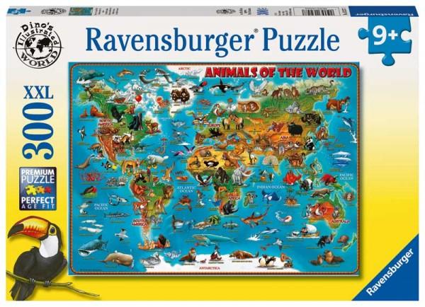 Kinderpuzzle Tiere rund um die Welt ab 9 Jahren