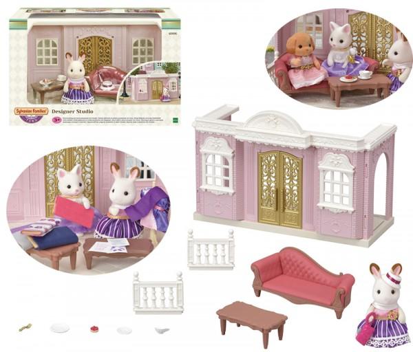 Sylvanian Families Town Series Designer Atelier Sternenglanz mit Figur