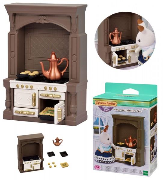 Sylvanian Families Town Series Gourmet Küchen Set