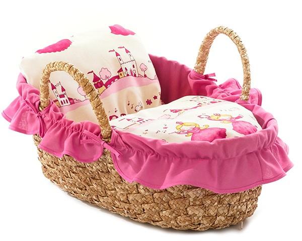 Korbtragetasche für Puppen 45 cm (Little Princess)