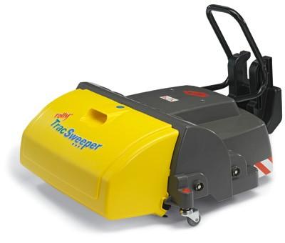 RollyTrac Sweeper (Schwarz)