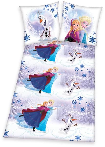 Renforce Bettwäsche Disney Die Eiskönigin 135 x 200 cm (Bunt)