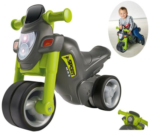 Kinderfahrzeug Sport-Bike Motorrad (Grau-Grün)
