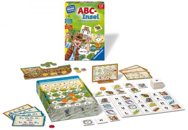 Kinderspiel ABC-Insel