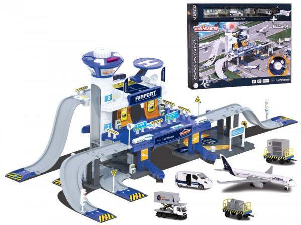 Creatix Lufthansa Flughafen Set mit 5 Fahrzeugen