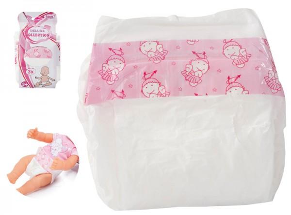 Puppen-Windel 3er Pack