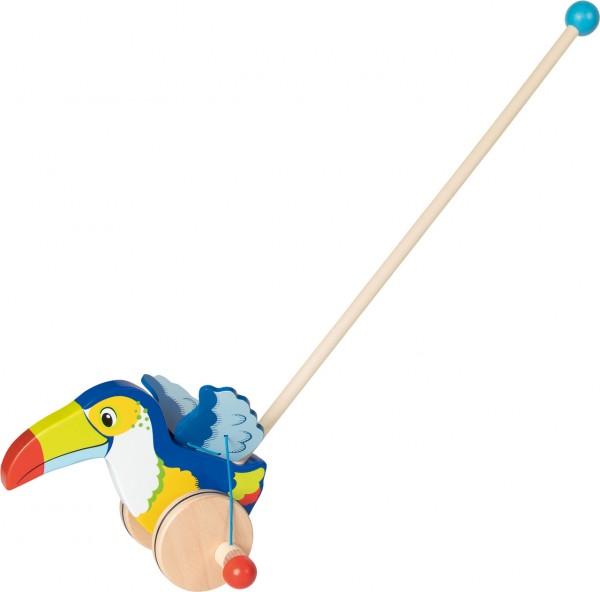 Schiebetier Tukan mit Flügelschlag (Blau-Bunt)