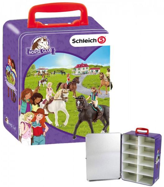 Großer Schleich Horse Club Sammelkoffer für Pferde (Lila)