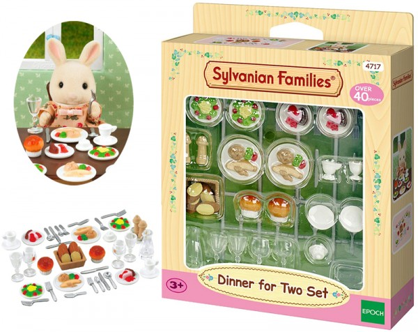 Sylvanian Families Dinner for Two-Set