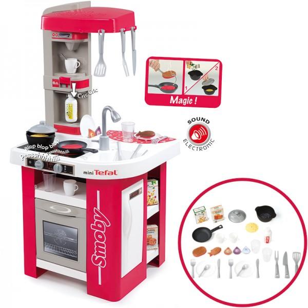 Mini Tefal Elektronische Studio Küche (Rot-Weiß)