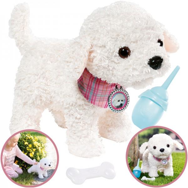 Baby Born Pony Farm Hund Charlie (Weiß)