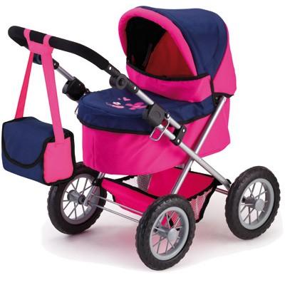 Mein erster Puppenwagen Trendy (Pink-Blau)