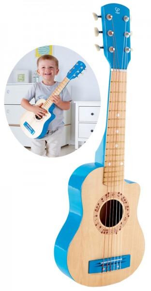 Kindergitarre aus Holz Gitalele Blaue Lagune