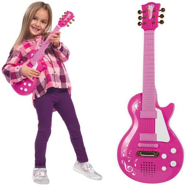 My Music World Rockgitarre Girl (Pink)