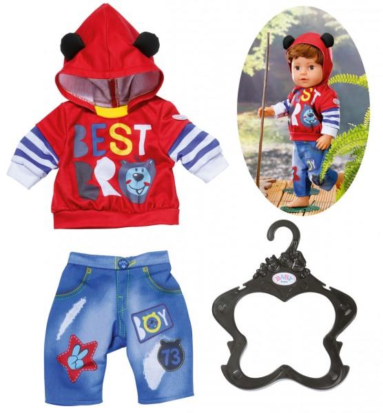 Baby Born Boy Outfit 43 cm (Rot-Blau)