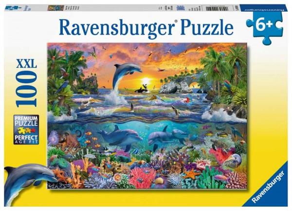 Kinderpuzzle Tropisches Paradies ab 6 Jahren