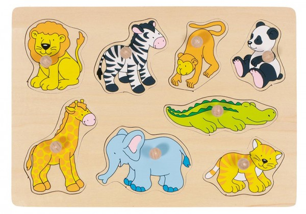 Steckpuzzle Baby Zootiere