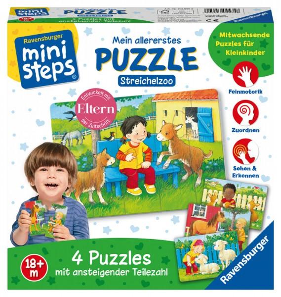 Ministeps Mein allererstes Puzzle Streichelzoo