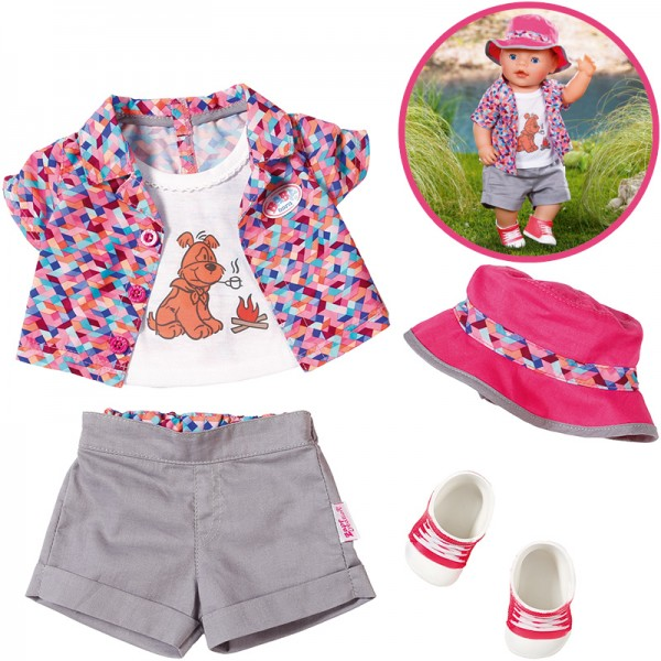 Baby Born Play&Fun Deluxe Camping Outfit 43 cm