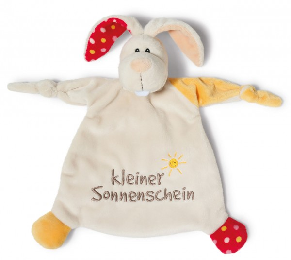 Schmusetuch Hase Kleiner Sonnenschein (Beige)