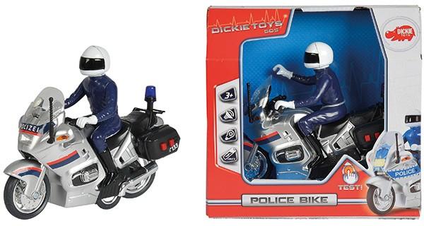 SOS Polizeimotorrad mit Licht und Sound