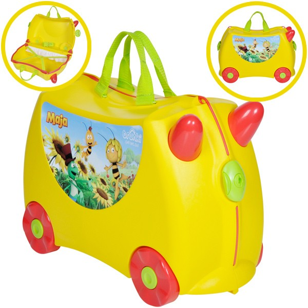 Kinderkoffer Trunki Biene Maja (Gelb)