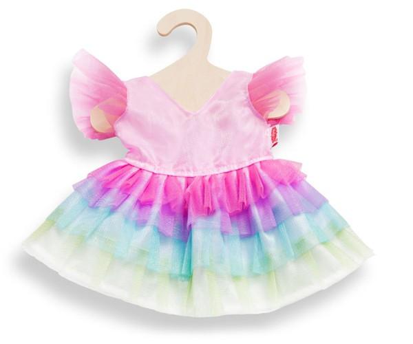 Kleidungsset Puppenkleid Regenbogenfee 35-45 cm