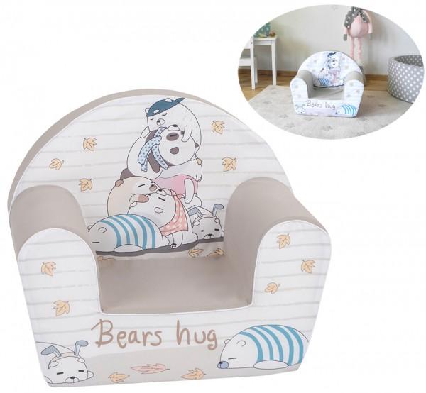 Kindersessel Bears Hug (Beige-Braun)