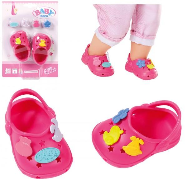 Baby Born Clogs mit Pins 43 cm (Pink)