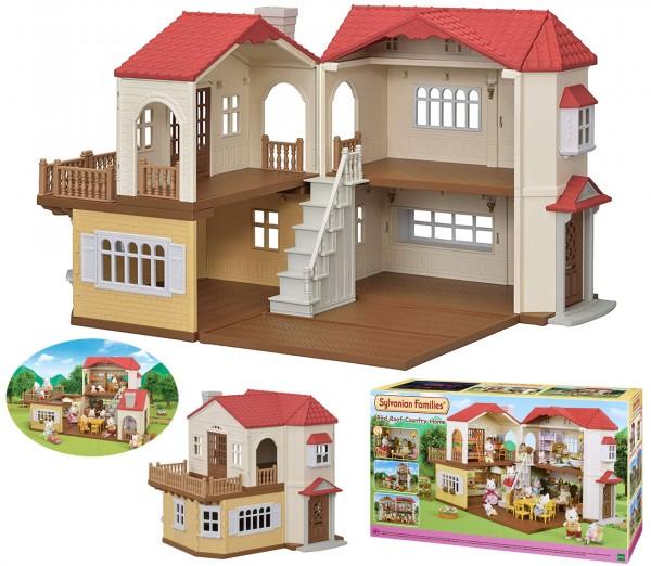 Sylvanian Families Stadthaus Neu mit Licht Puppenhaus