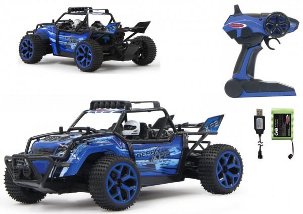 RC Buggy Derago XP2 4WD 1:18 2,4GHz (Blau)