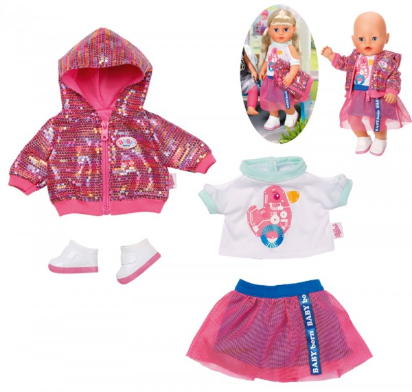 Baby Born City Deluxe Style 43 cm (Pink)