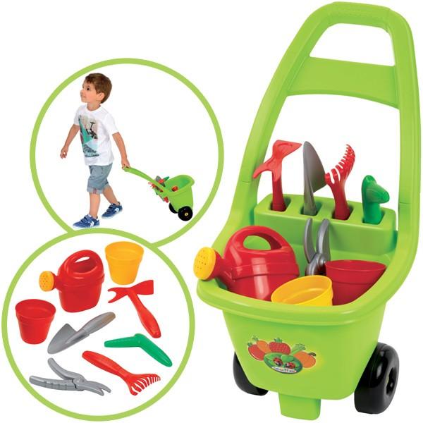 Trolley mit Gartenzubehör