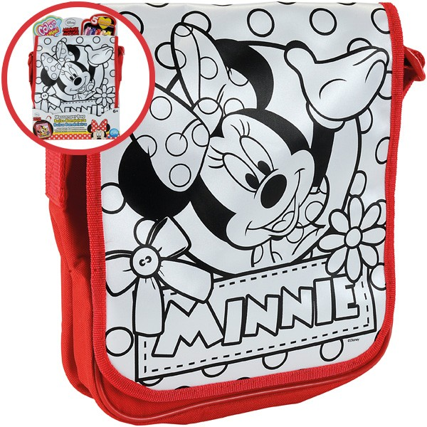 Color Me Mine Messenger Bag Minnie Maus