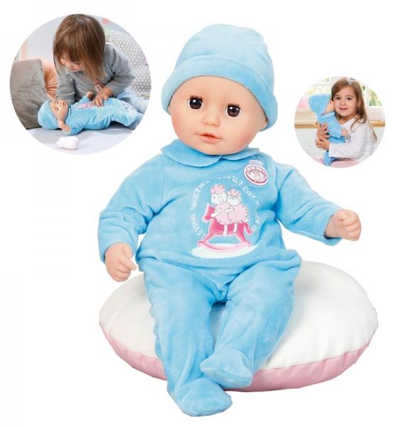 My First Baby Annabell Puppe Alexander mit Schlafaugen 36 cm (Blau)
