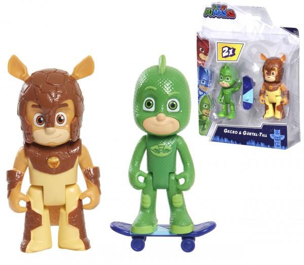PJ Masks Figuren Set Gecko und Gürtel-Till