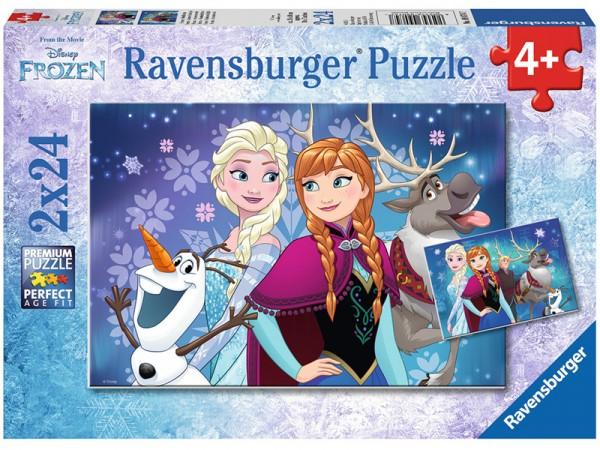 Kinderpuzzle Disney Frozen Nordlichter ab 4 Jahren