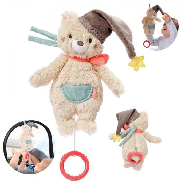 Bruno Mini Spieluhr Teddy (Guter Mond Du gehst so Stille)
