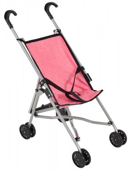 Puppenbuggy (Melange Pink)