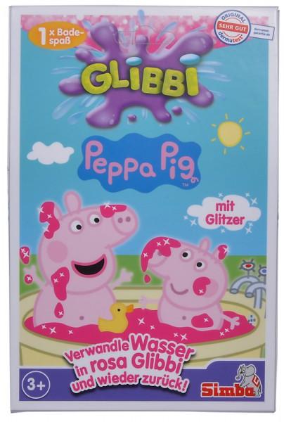 Glibbi Peppa Pig Pinker Schleim für die Badewanne (Pink)
