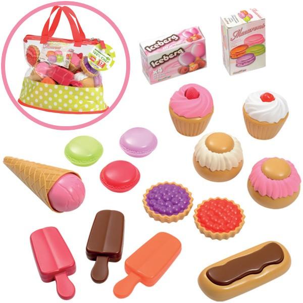 Tasche mit Süßwaren