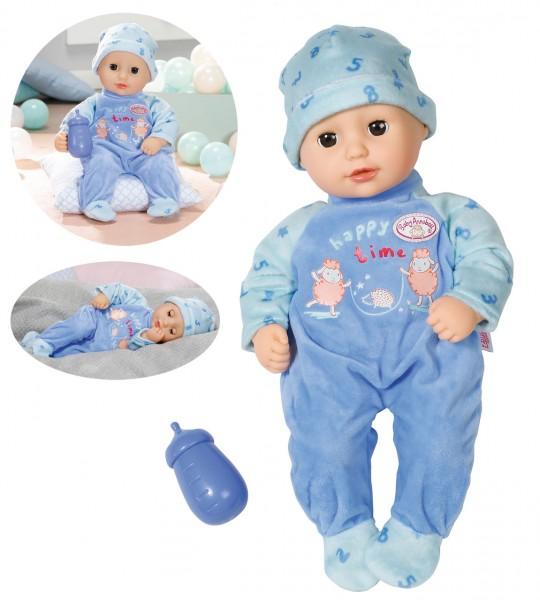 Baby Annabell Little Alexander Puppe Junge 36 cm (Pastell Blau)
