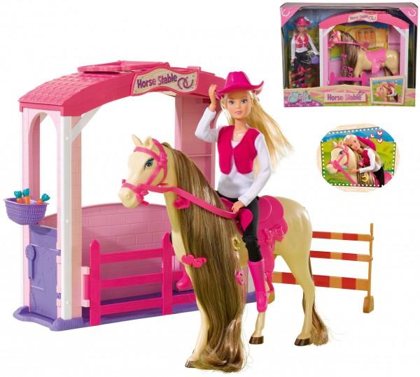 Steffi Love Pferdestall mit Pferd und Zubehör