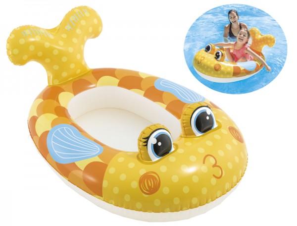 Kinder-Schlauchboot Fisch (Gelb)