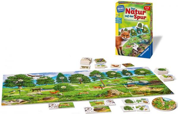 Kinderspiel Der Natur auf der Spur