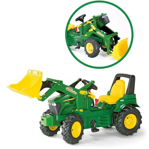 RollyFarmtrac Premium John Deere 7930 Traktor mit Frontlader und Luftbereifung