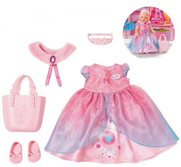 Baby Born Boutique Deluxe Shopping Prinzessin 43 cm