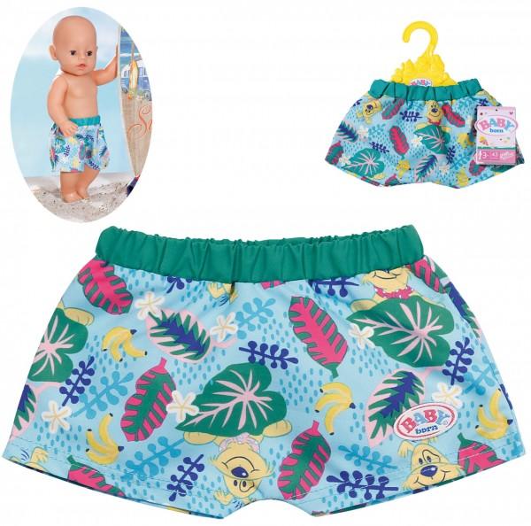 Baby Born Holiday Badeshorts 43 cm (Bunt)